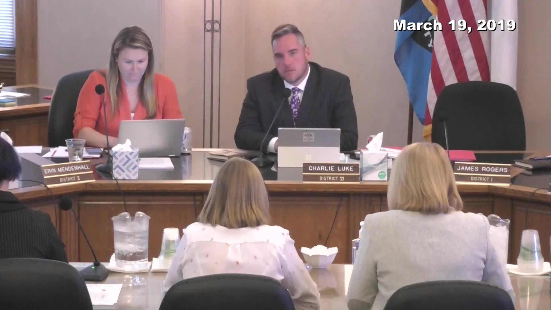 City Council Work Session - 03/19/2019