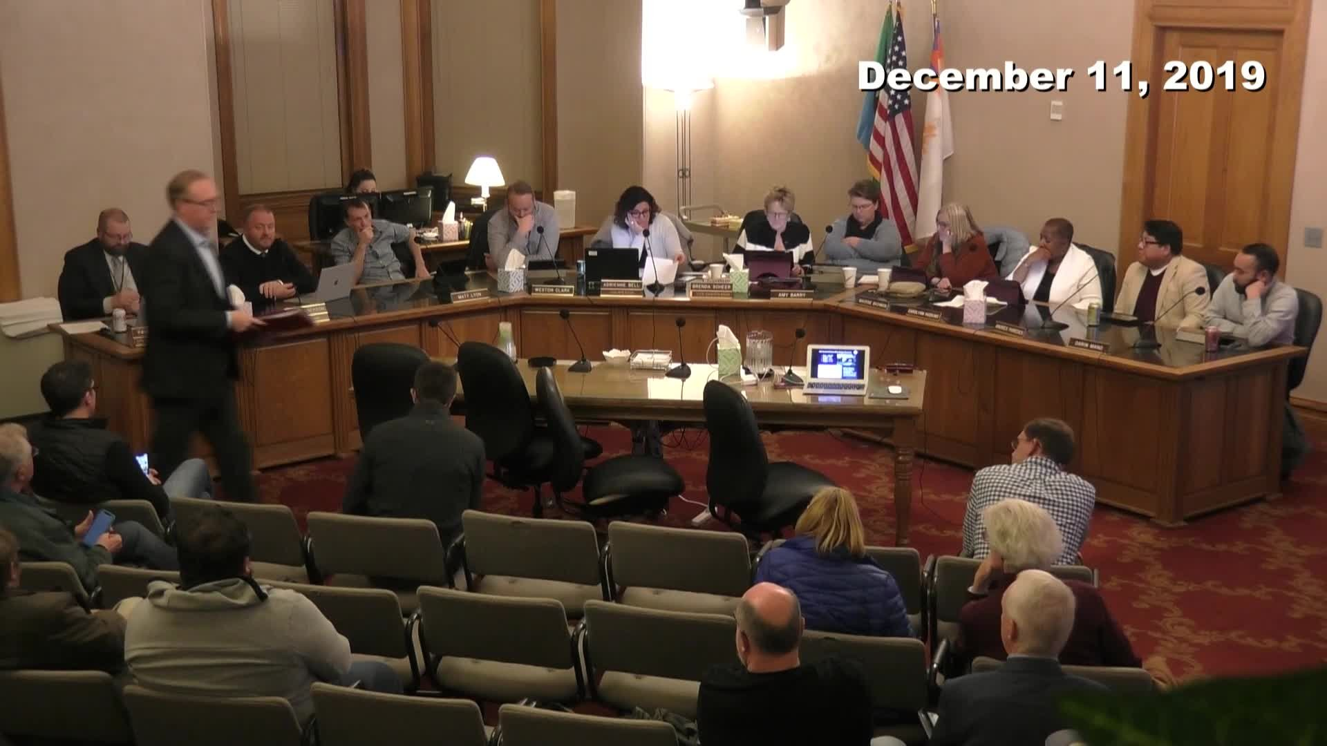 Planning Commission Meeting - 12/11/2019
