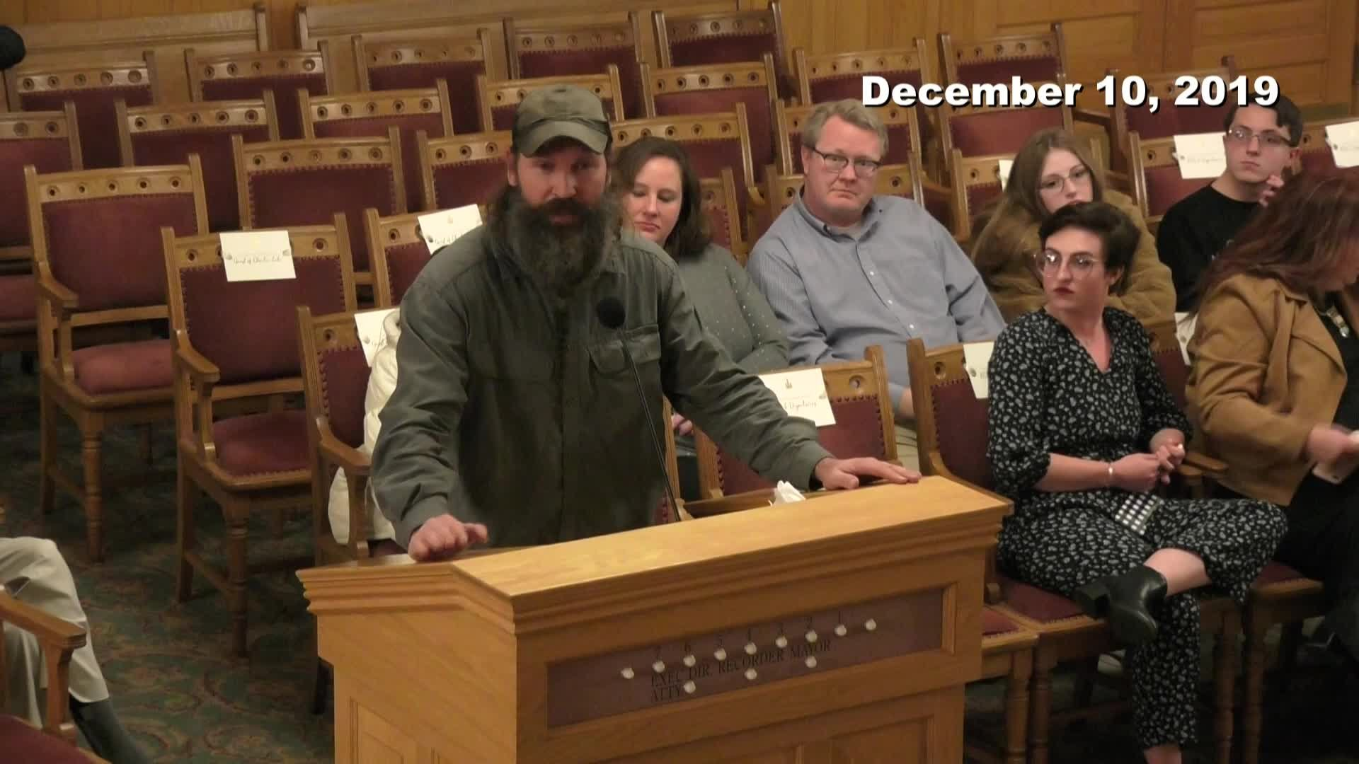 City Council Formal Meeting - 12/10/2019