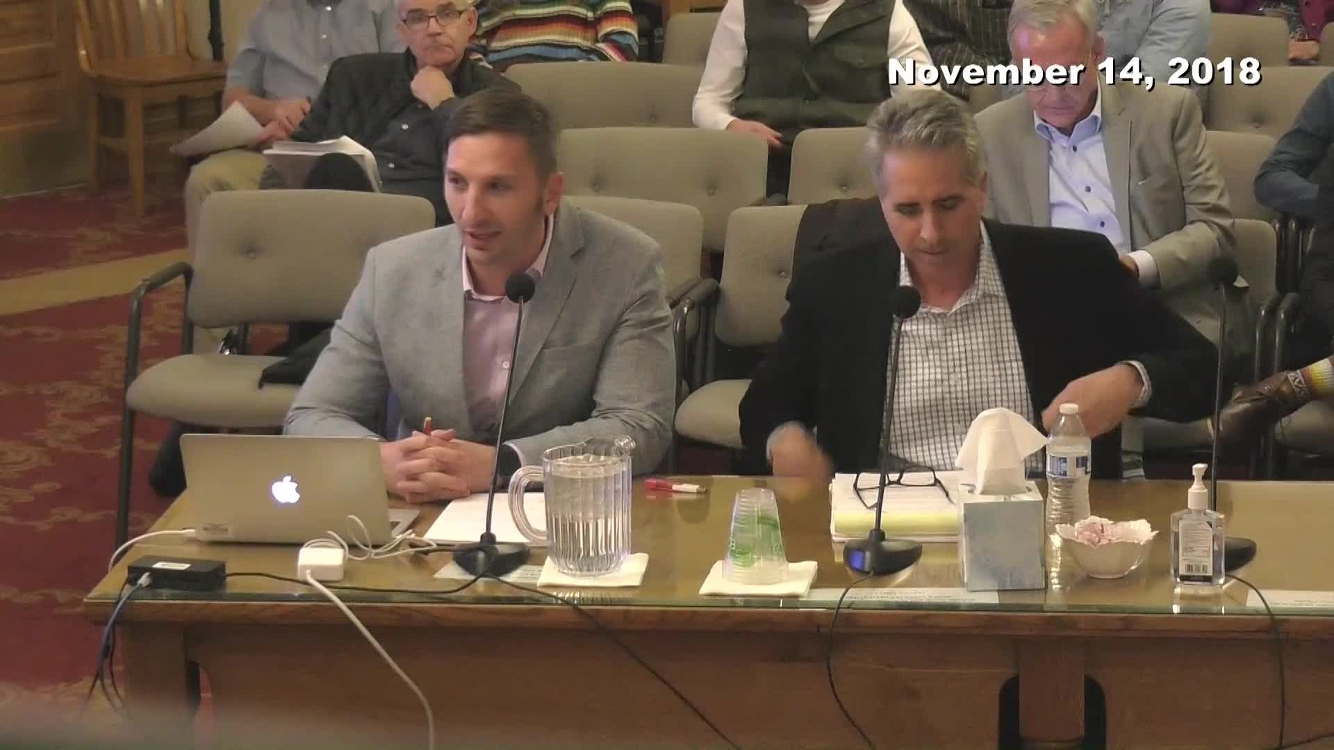 Planning Commission Meeting - 11/14/2018