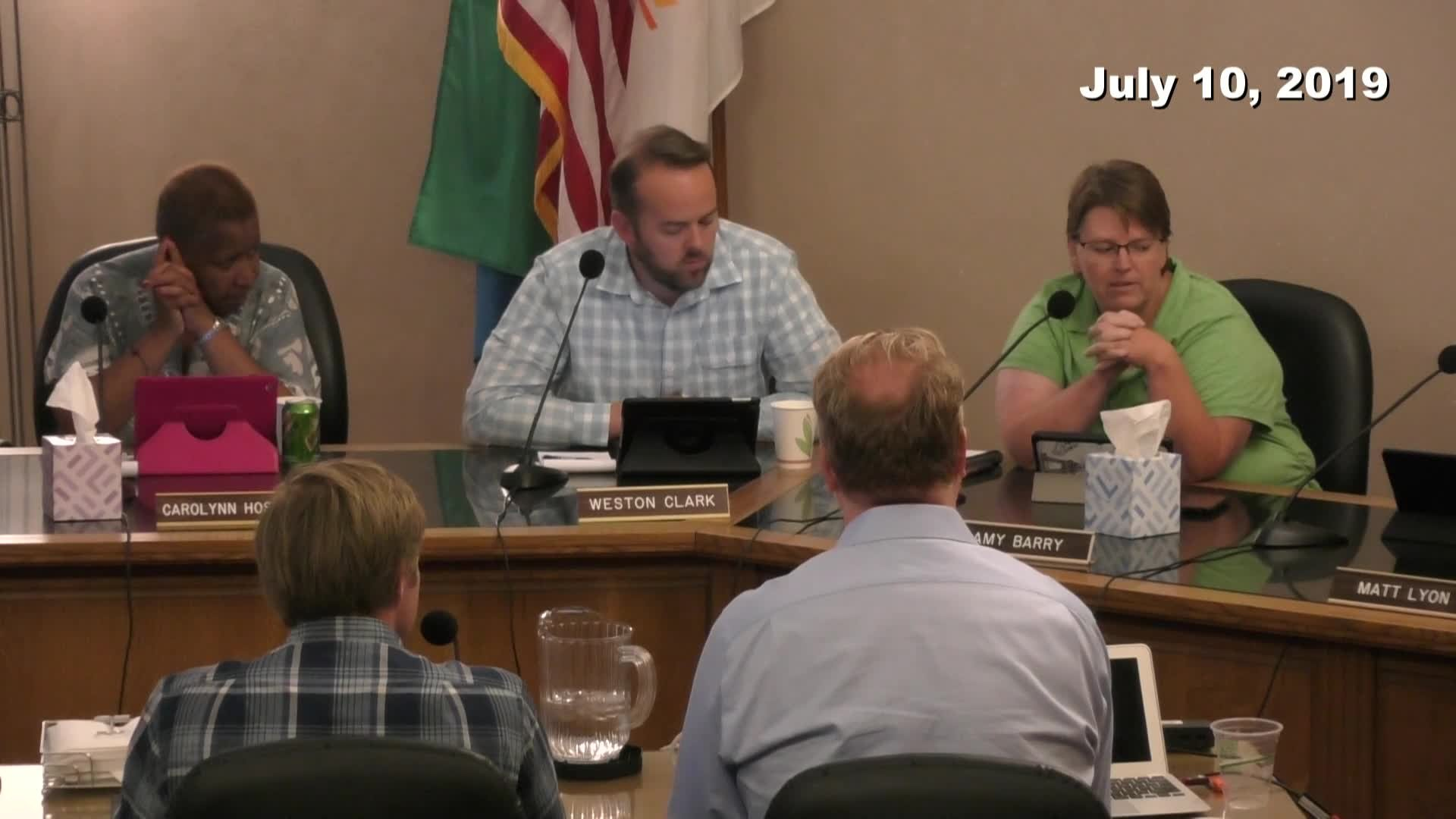 Planning Commission Meeting - 07/10/2019