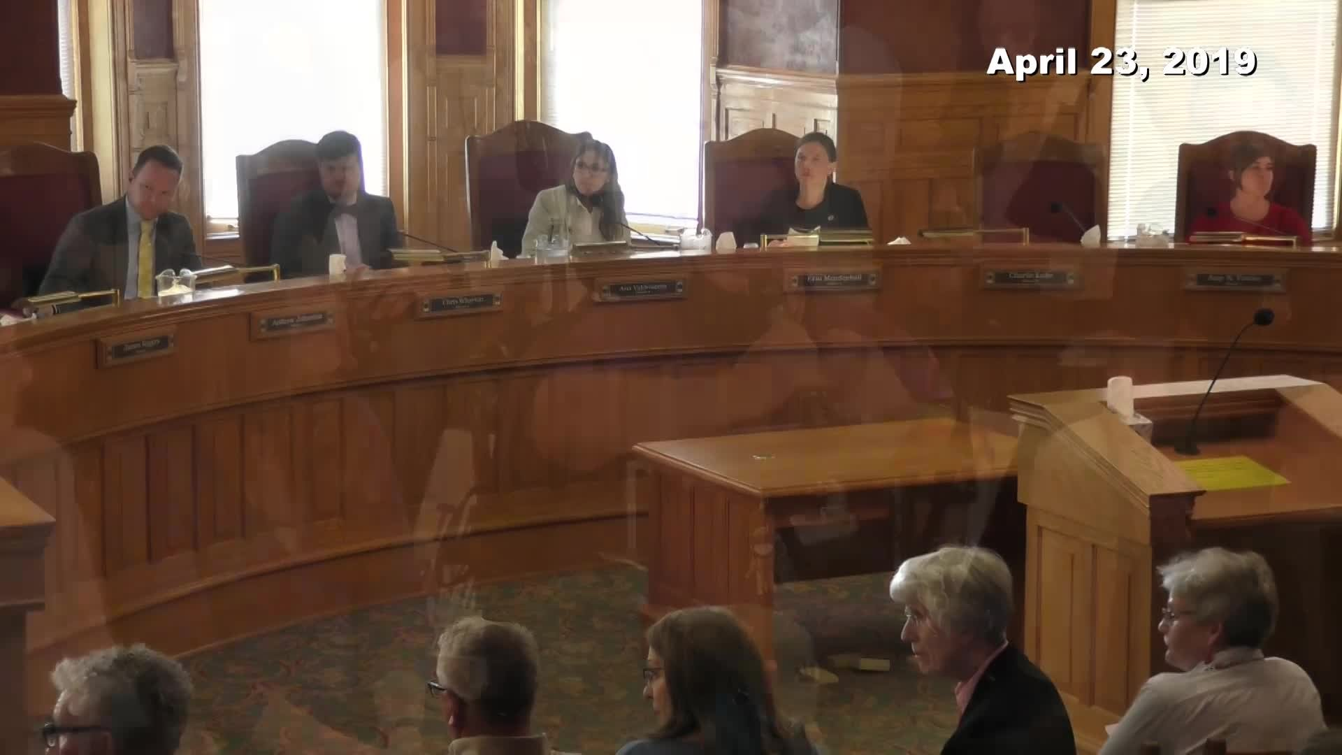 City Council Formal Meeting - 04/23/2019