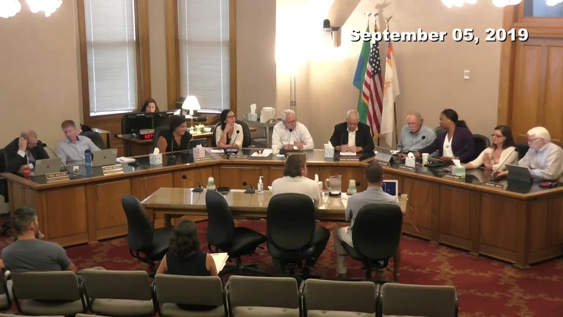 Historic Landmarks Commission Meeting - 09/05/2019