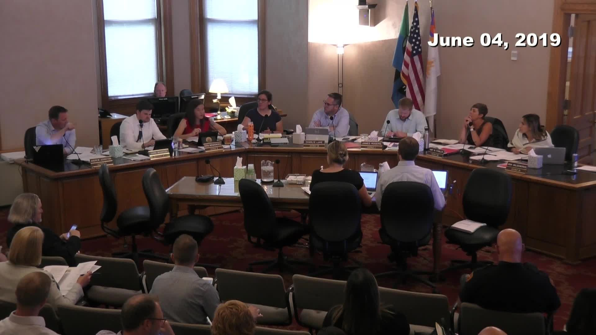 City Council Work Session - 06/04/2019