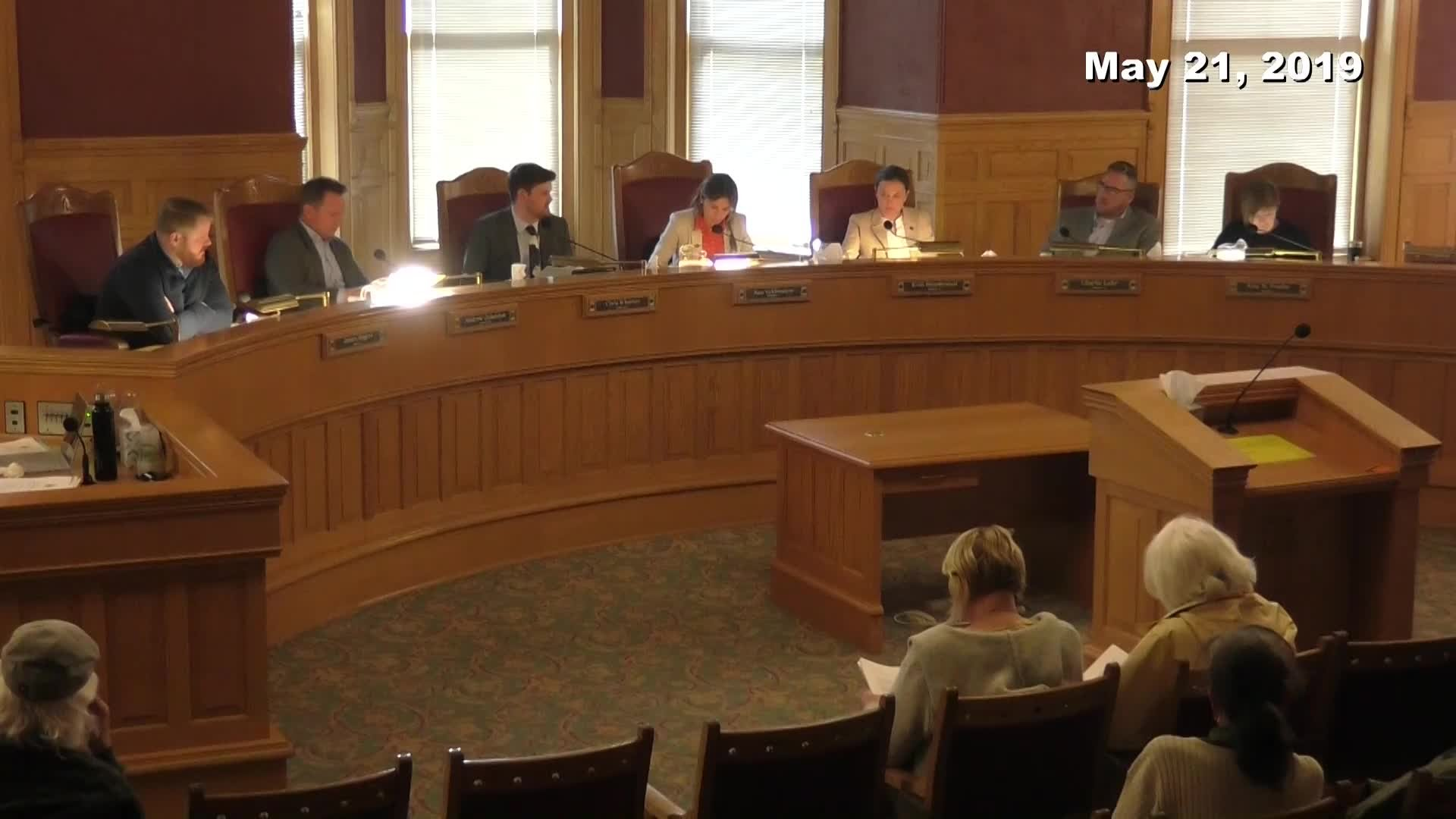 City Council Formal Meeting - 05/21/2019