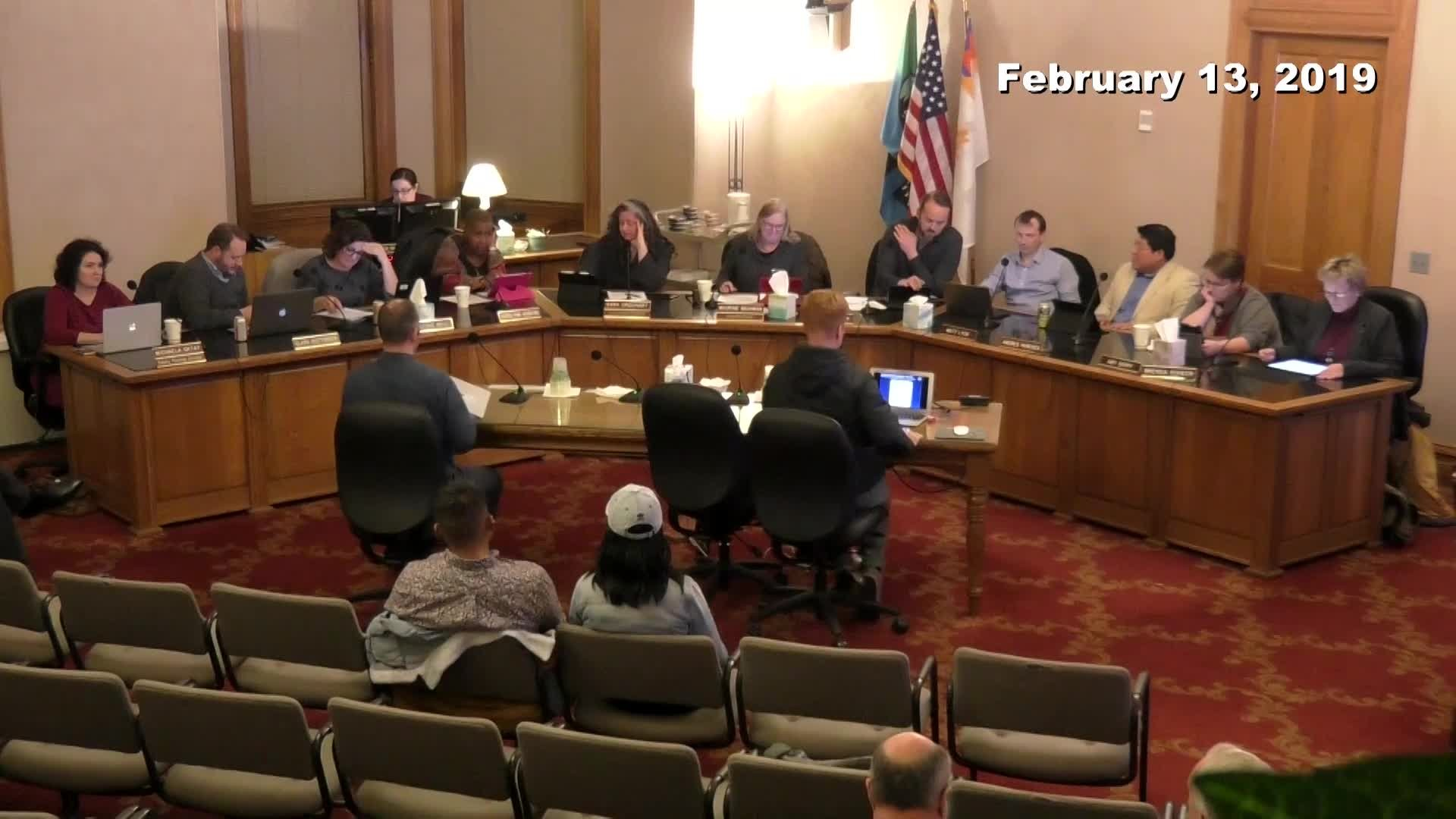 Planning Commission Meeting - 02/13/2019