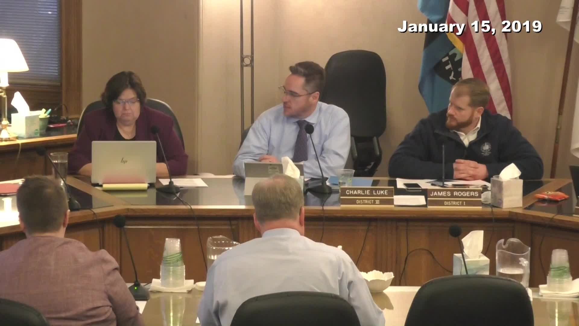 City Council Work Session - 01/15/2019