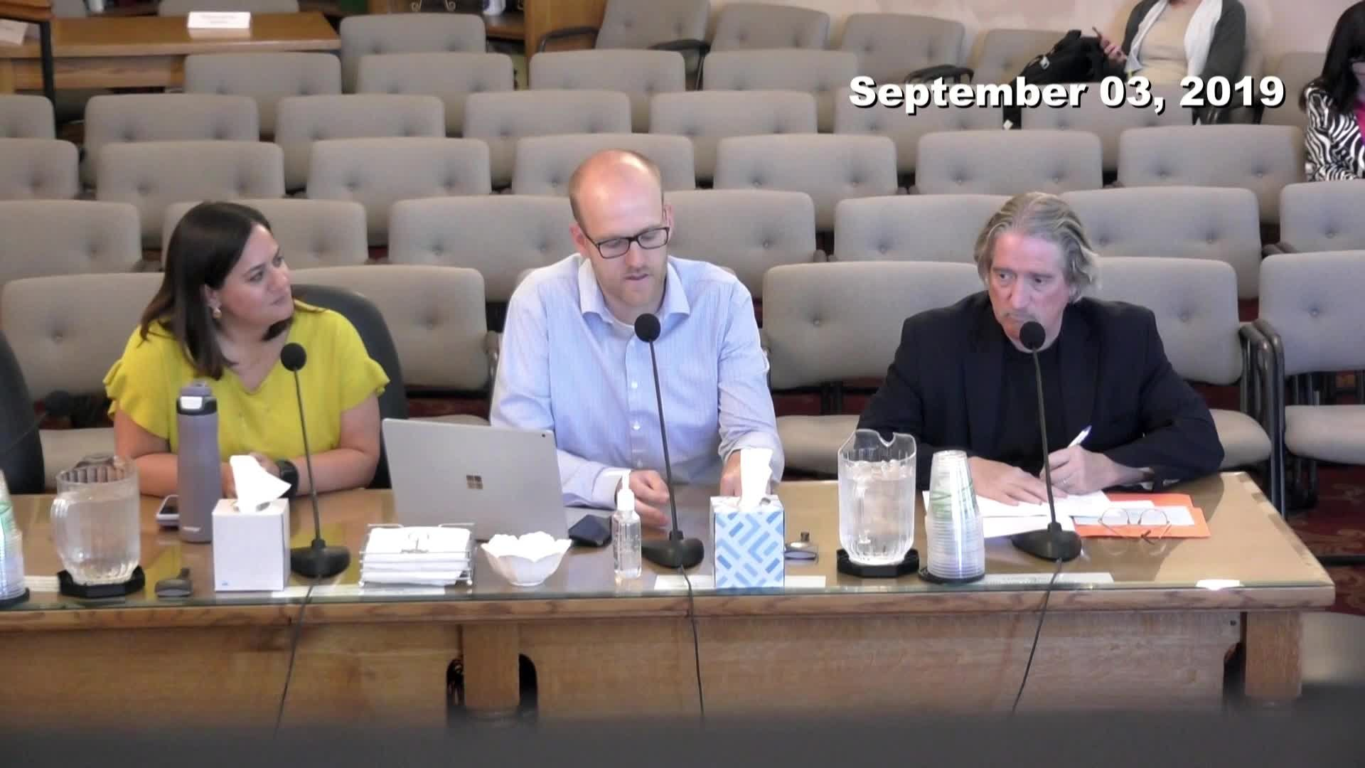 City Council Work Session - 09/03/2019