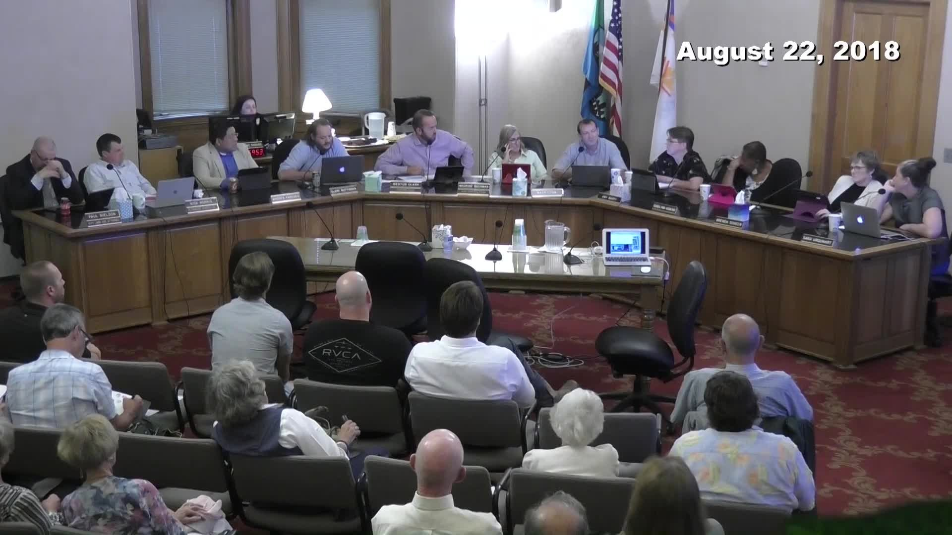 Planning Commission Meeting - 08/22/2018