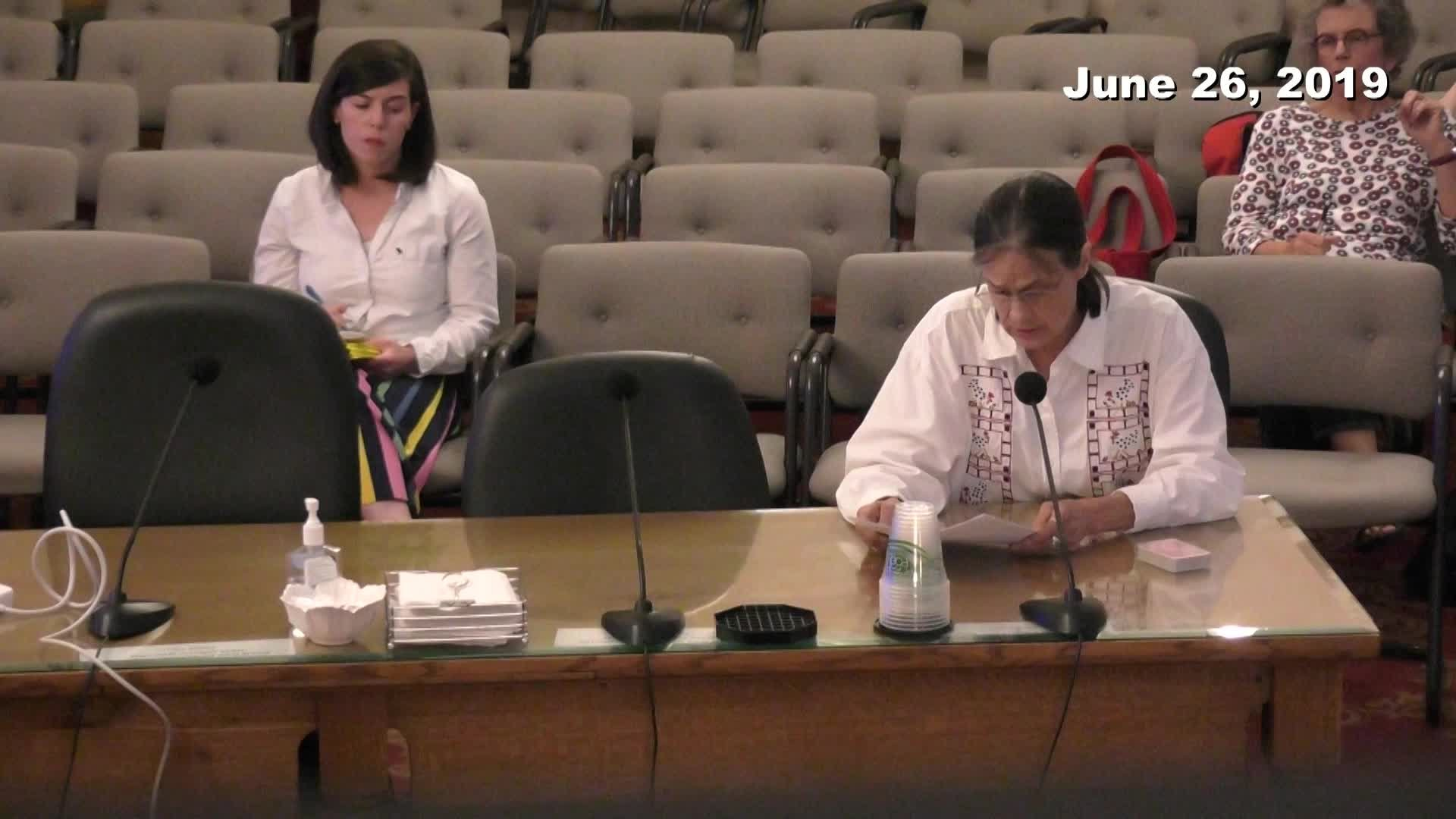 Planning Commission Meeting - 06/26/2019