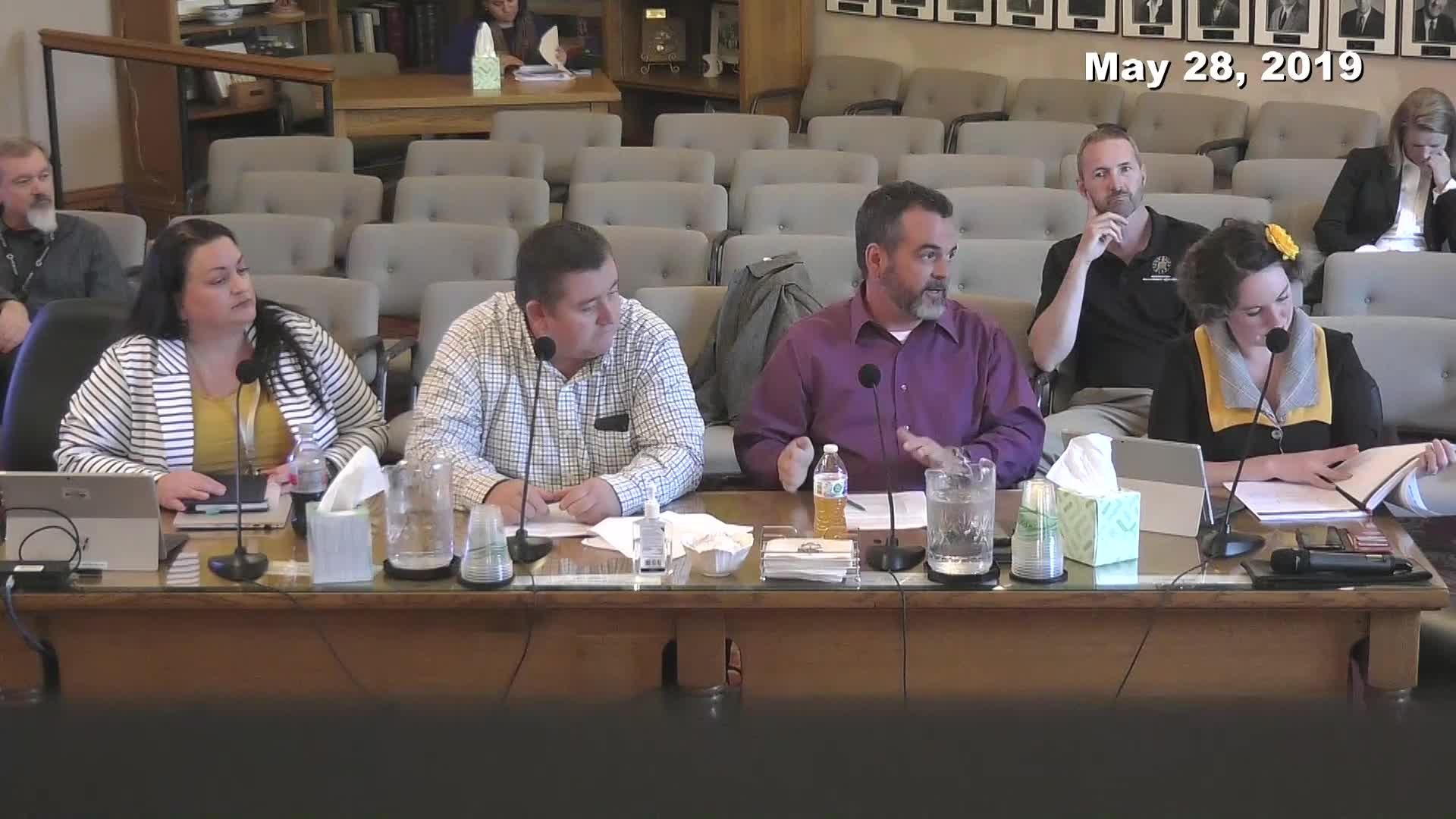 City Council Work Session - 05/28/2019
