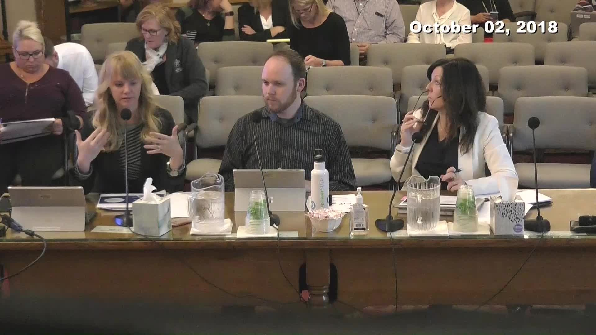 City Council Work Session - 10/02/2018