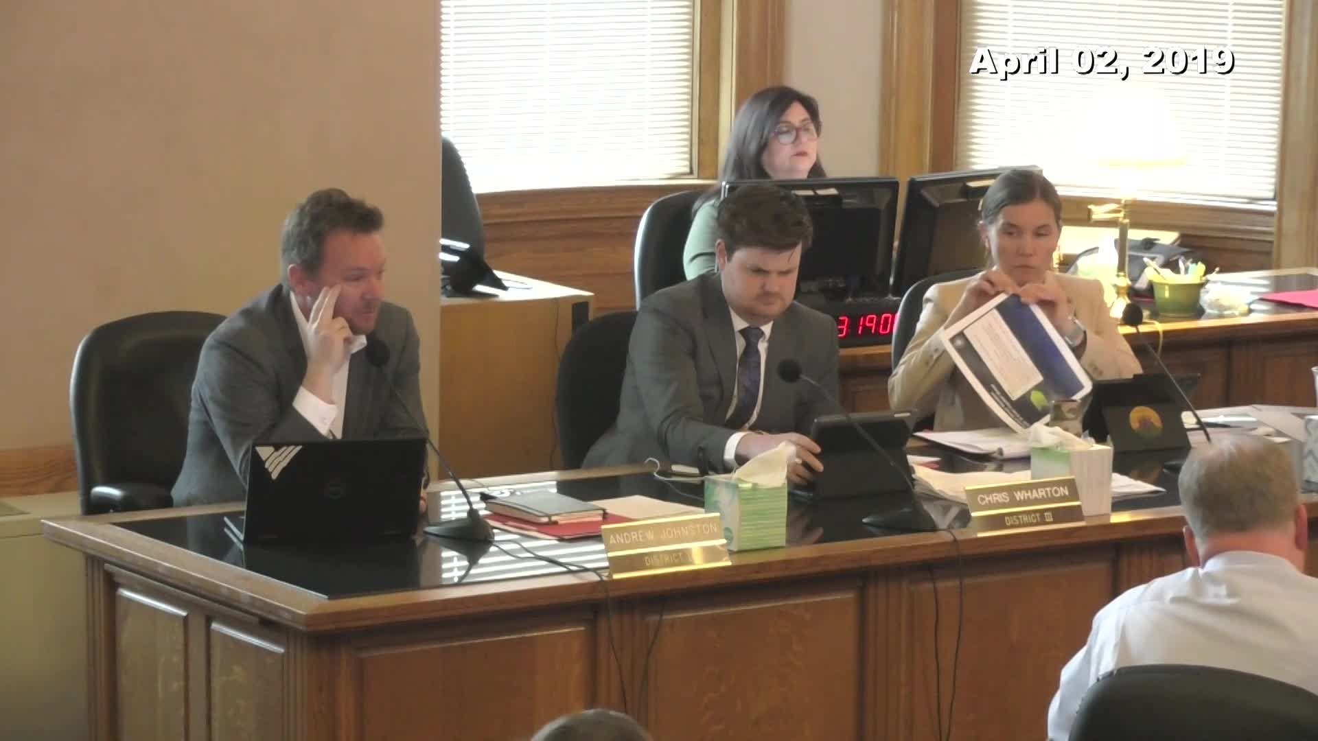 City Council Work Session - 04/02/2019
