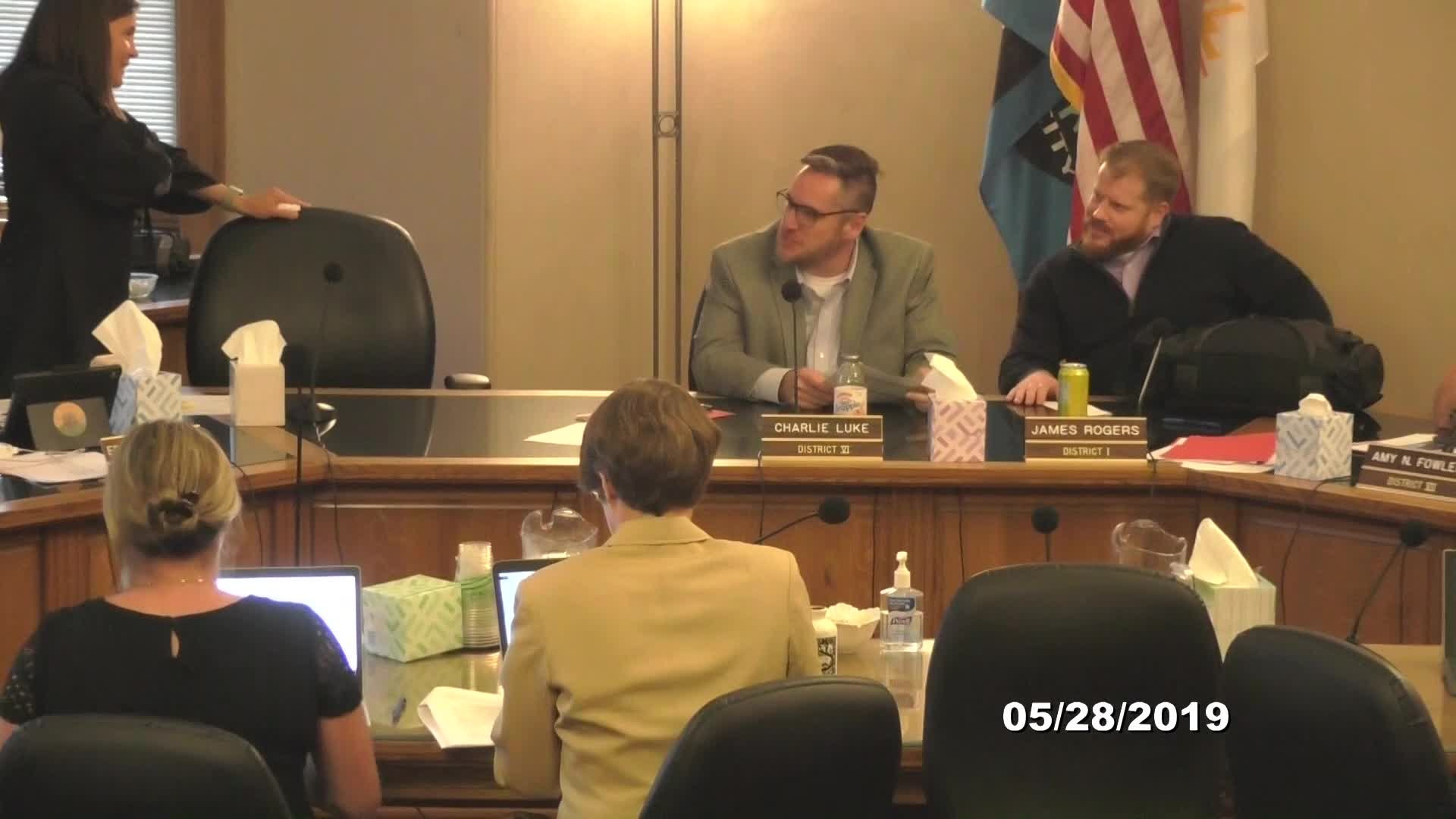 City Council Limited Formal Meeting - 05/28/2019