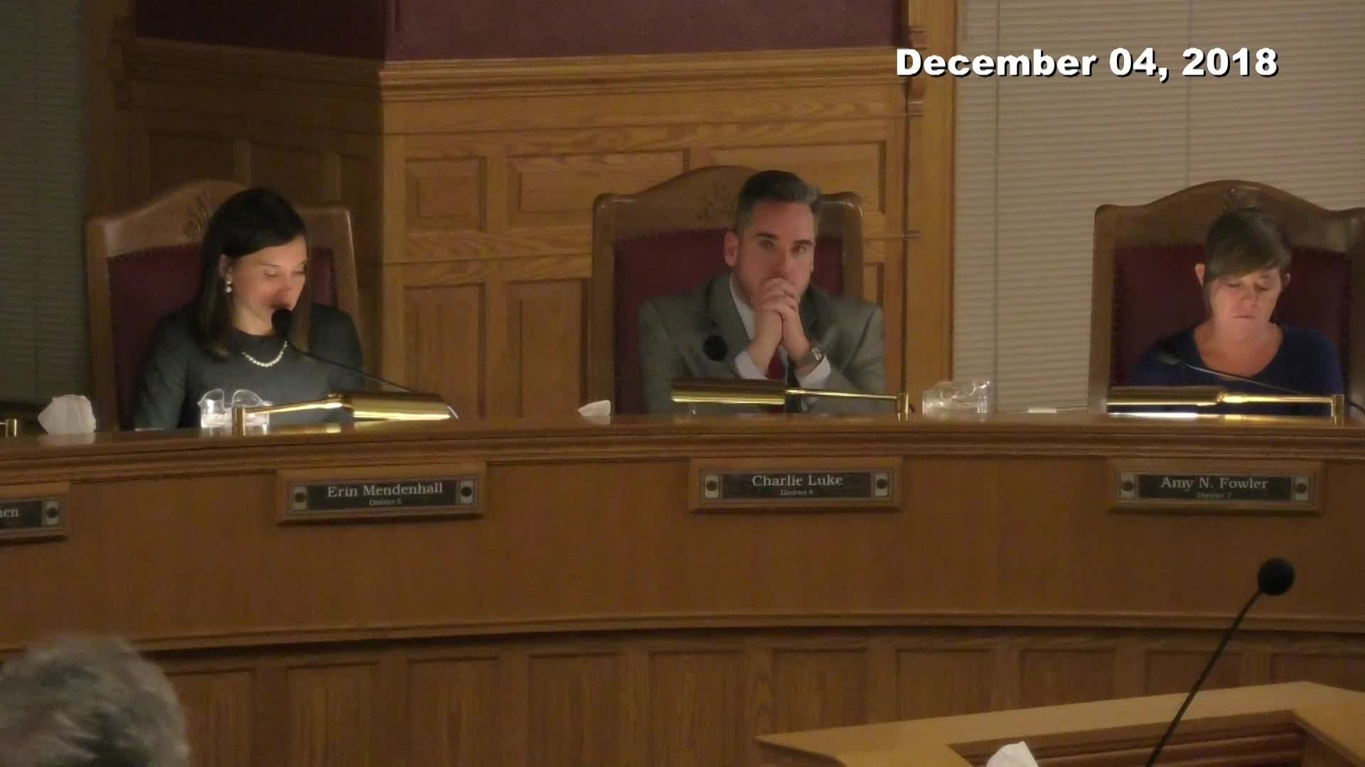 City Council Formal Meeting - 12/04/2018