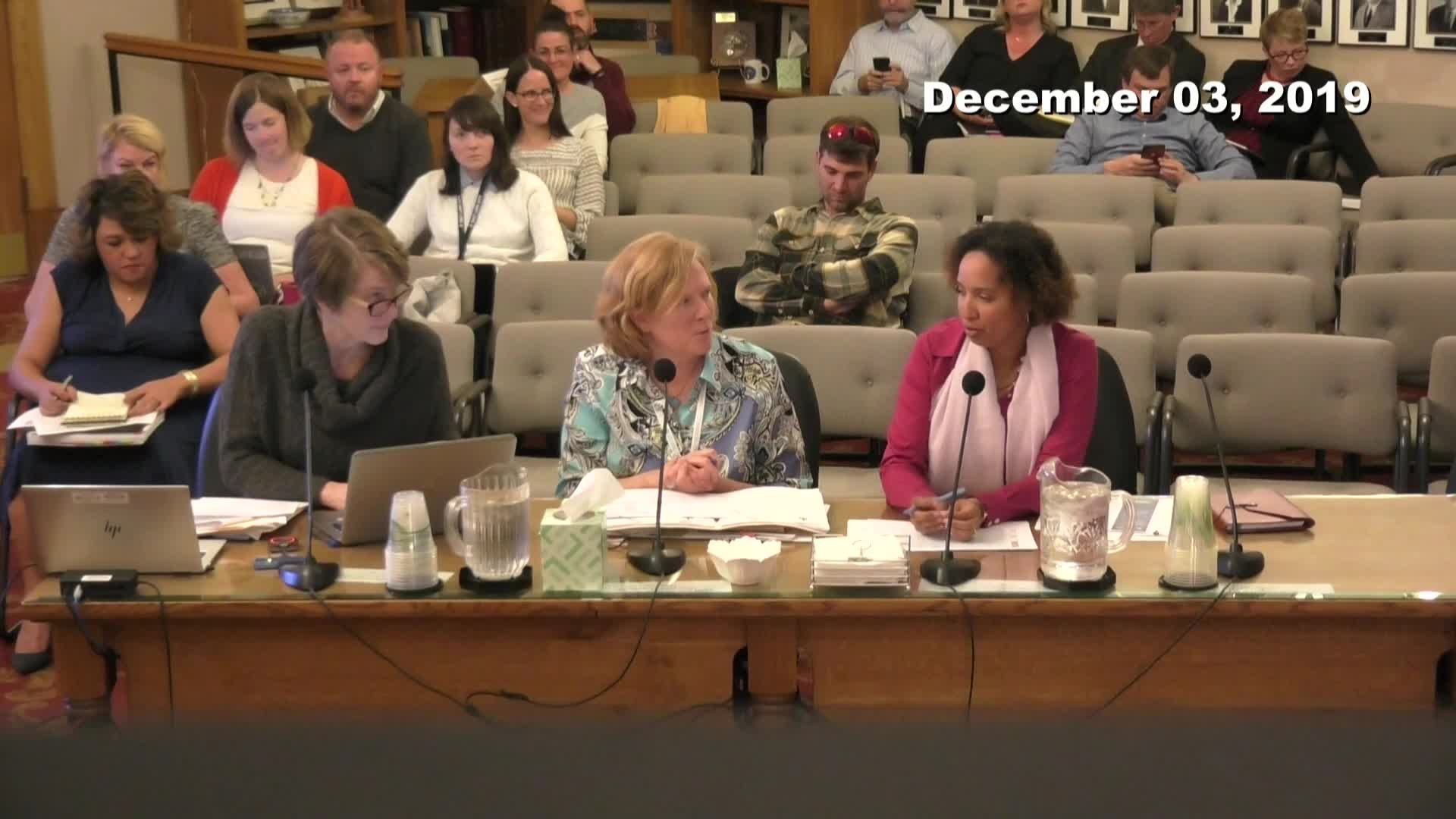 City Council Work Session - 12/03/2019