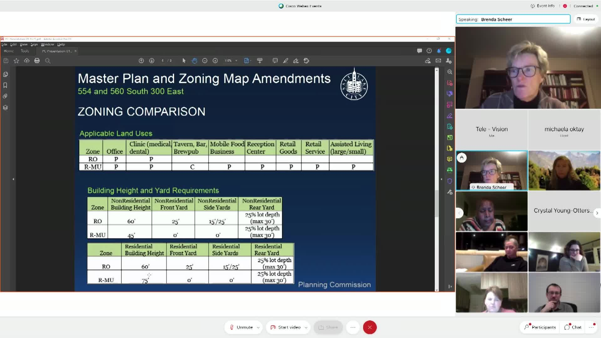 Planning Commission Meeting - 01/13/2021